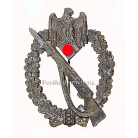 Infantry assaut badge in bronze