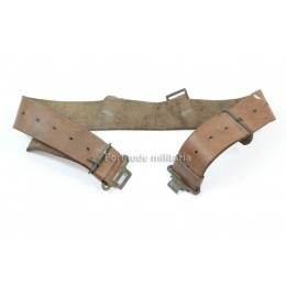 British leather belt
