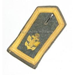 Coastal artillery shoulder board