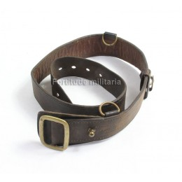 French officer's leather belt