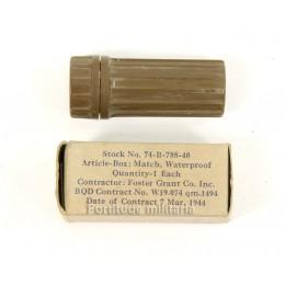 Matches box waterproof