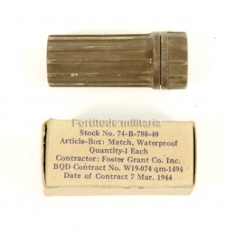 Matches box waterproof