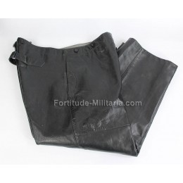 Kriegsmarine leather trousers