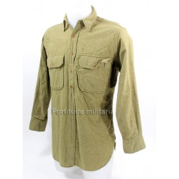 US Army wool shirt