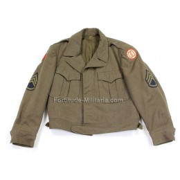 Ike jacket, Staff sergeant, 31st division.