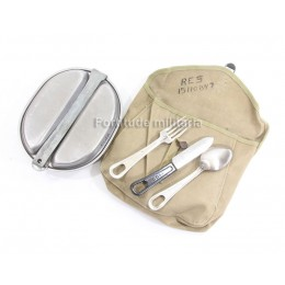US mess kit pouch complete