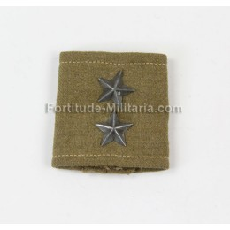 Polish lieutnant shoulder board slip-on