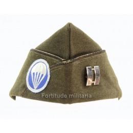 US Airborne officer's side cap
