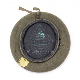 "Canadian beret ""Westminster regiment"""