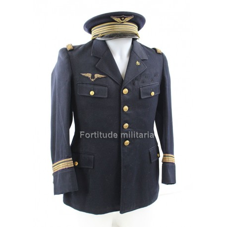 French 1940 airforce medical tunic and cap