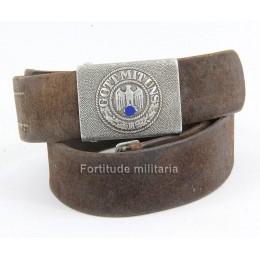 Heer belt and buckle
