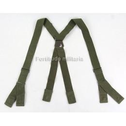 US jump trousers suspenders