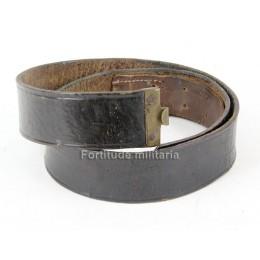 Luftwaffe leather belt