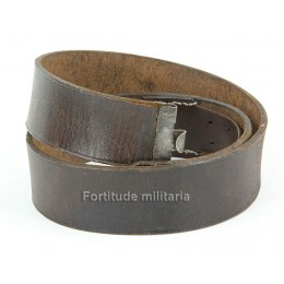 Political leather belt