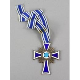 Mother cross in bronze