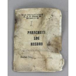 Parachute log record