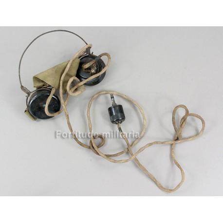 British radio headset
