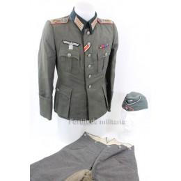 Panzerjäger officer tunic set