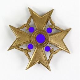 Croix d'Espagne bronze sans épées