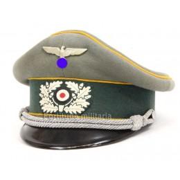 Cavalry officer's visor cap