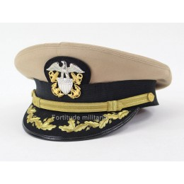 US NAVY officer visor cap