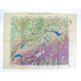 British general staff map