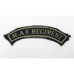 "Title ""RAF Regiment"""