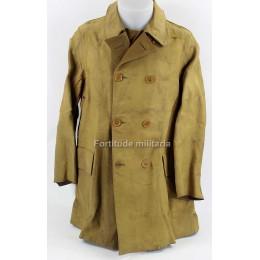 British rubberized coat