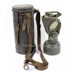 Camo german gas mask
