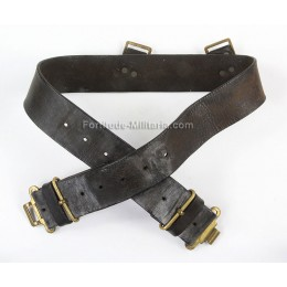 British leather belt