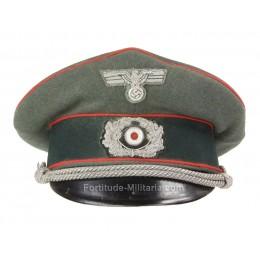 Artillery officer's visor cap
