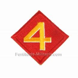 Patch USMC : 4ème division
