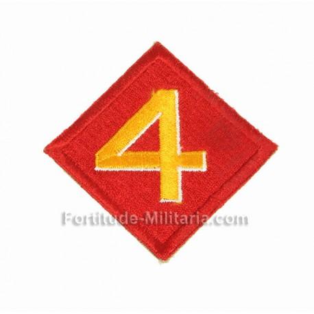 USMC patch : 4th division
