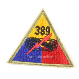 US PATCH : 389th Armored bataillon