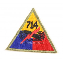 US PATCH : 714th Armored bataillon
