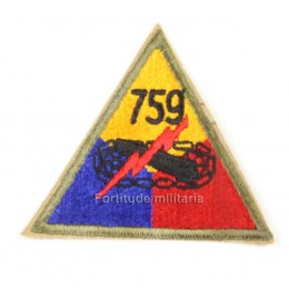 US PATCH : 759th Armored bataillon