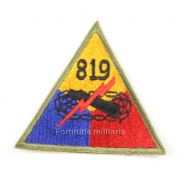 US PATCH : 819th Armored bataillon