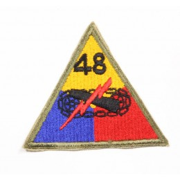 US patch : 48th armored division