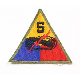 "US patch : ""School"" armored division"