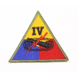 US patch : IVth armored corps