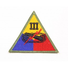 US patch : IIIrd armored corps