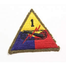 US patch : 1st armored division