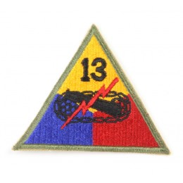 US patch : 13th armored division