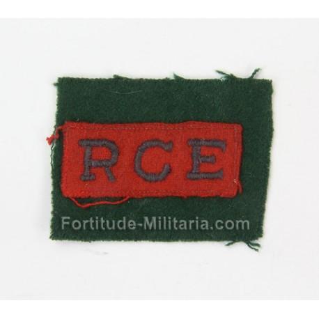 Royal Canadian Egineers arm badge
