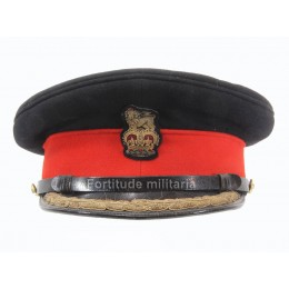 British army general visor cap