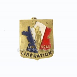 "French Libération pin ""LIBE-NORD"""