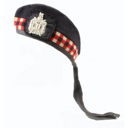 """King's own scottish borderers"" side cap."