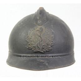 Casque Français WW1 du corps médical
