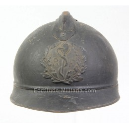 French WW1 medical helmet