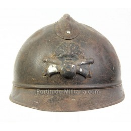 French WW1 artillery helmet